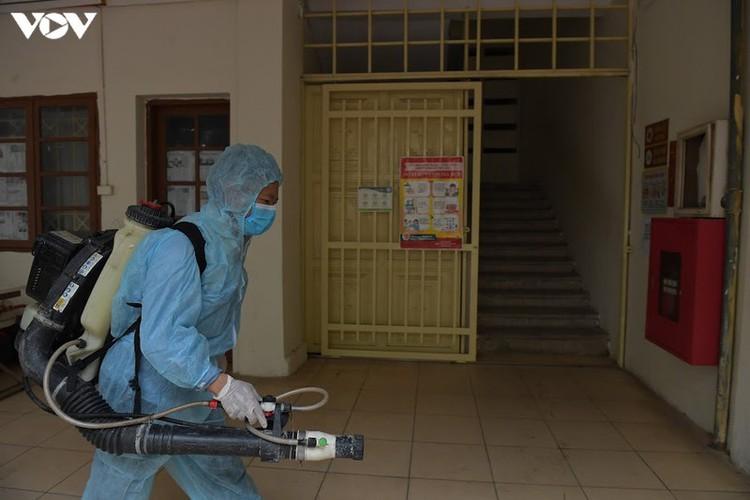 hanoi disinfects exam sites to mitigate covid-19 risk hinh 12