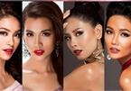History of Vietnam's representatives at Miss Universe pageants through years