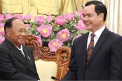 Top Cambodian legislator visits Ha Nam province