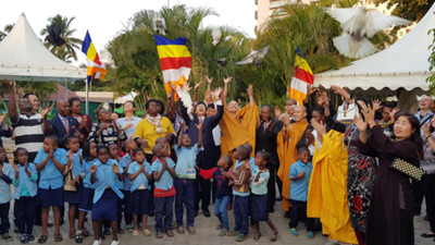 Vietnamese citizens in Mozambique celebrate Buddha's 2563rd birthday