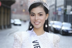 Vietnam's Quynh Nhu awarded first runner-up title in Miss & Mrs Top of the world