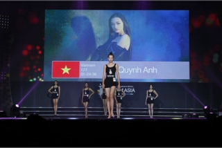 Vietnam's Quynh Anh finishes among the Top 10 of Face of Asia 2019