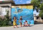 Fascinating mural paintings adorn Hue village