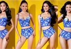Miss World Vietnam's southern finalists appear in swimsuit photoshoot