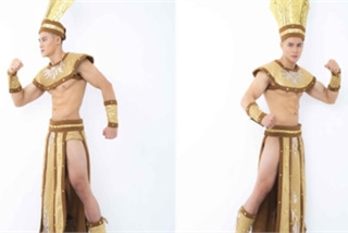Vietnamese contestant unveils national costume for Mister National Universe 2019