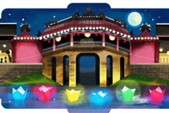 Hoi An Lantern Full Moon Festival receives tribute on Google homepage