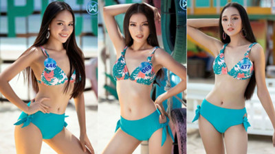 Top 39 finalists of Miss World Vietnam 2019 dazzle whilst modelling in swimsuits