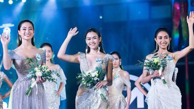 Top 3 contestants of Miss World Vietnam's Top Model segment revealed