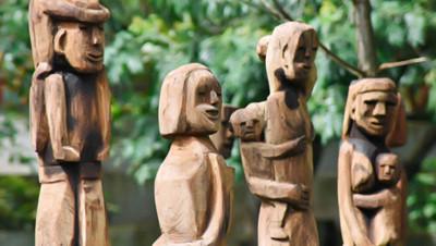Grave sculptures of the Central Highlands