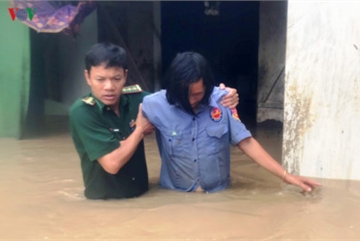 Heavy rain submerges in central highlands provinces