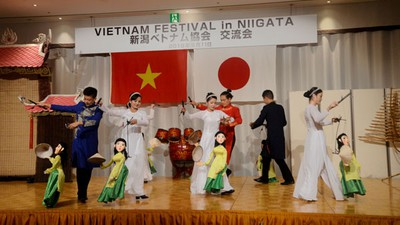 Vietnamese culture put on display during Niigata festival in Japan