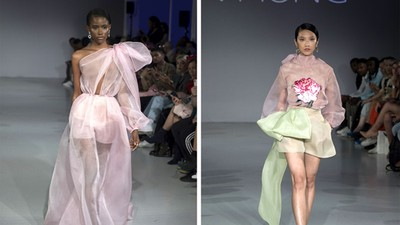 Vietnamese designer Tran Hung showcases new designs at London Fashion Week