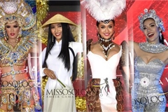 Miss Asia Pacific International contestants shine in national costume segment