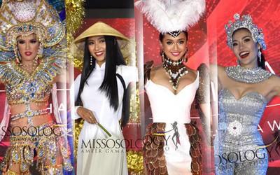 Miss Asia Pacific International contestants shine in national costume segment