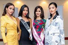 First photos of Vietnam's Kieu Loan at Miss Grand International 2019