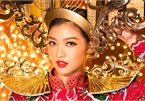 Vietnam's Kieu Loan unveils national costume ahead of Miss Grand International show