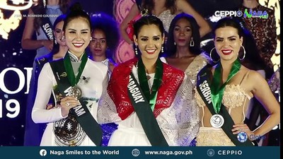 Vietnam's Hoang Hanh achieves another medal win at Miss Earth 2019