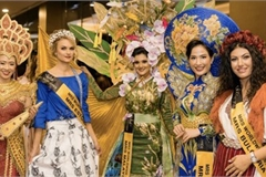 Vietnamese contestant Hoang Hat finishes among Top 10 of Mrs Worldwide 2019