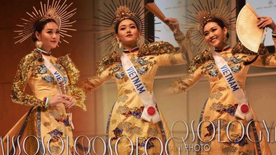 Stunning national costumes on show at Miss International 2019