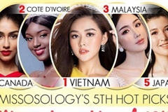 Miss International Vietnam ranked highly by 17 global beauty rankings