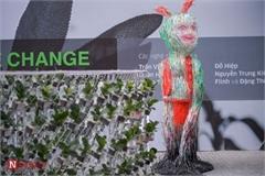 Unique exhibition showcasing recycled plastic opens in Hanoi