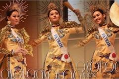 Vietnamese beauties enjoying national costume wins at global pageants