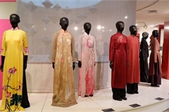 Ao Dai exhibition at Vietnamese Women's Museum