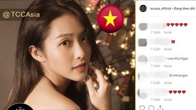 Vietnamese actress Kha Ngan among Top 100 Most Beautiful Faces 2019 in Asia