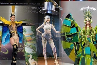 Array of national costumes revealed for Miss Universe 2019