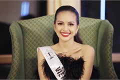 Ngoc Chau wins first round of SupraChat segment at Miss Supranational 2019