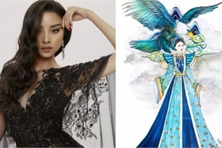 National costume revealed for Thuy An at Miss Intercontinental 2019