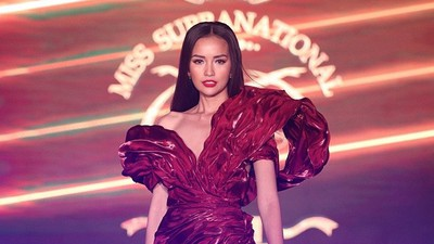 Ngoc Chau competes in Supra Model of Year 2019 competition