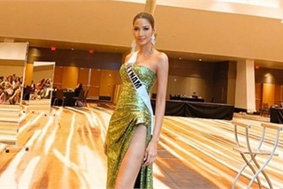 Vietnam's Hoang Thuy shines whilst representing the nation at Miss Universe 2019