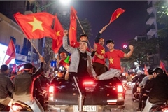 Sleepless night following Vietnam victory in men's football at SEA Games