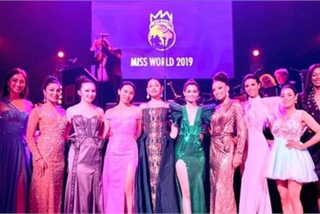 Thuy Linh among Top 10 of Miss World's Beauty with a Purpose segment