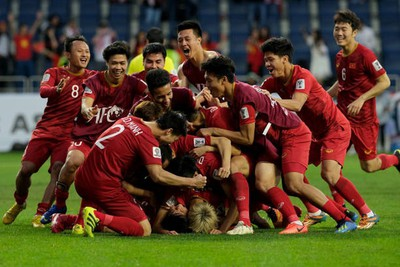 Significant landmarks reached by Vietnamese men's football team during 2019