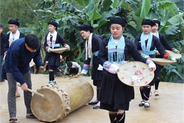 New Year celebrations of Giay ethnic people