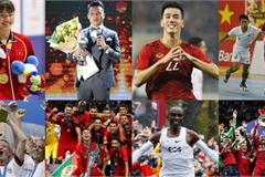 The year's leading international and domestic sporting events
