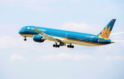 Vietnam Airlines's Boeing 787-10 used for HCM City-Shanghai route