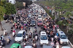 Commuters in Hanoi poised to face annual Tet gridlock