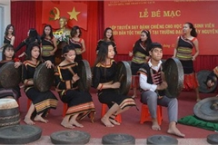 Extracurricular class fuels ethnic minority students' passion for Gong culture