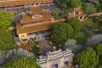Hue Imperial Citadel hosts reenactment of Cay Neu ceremony