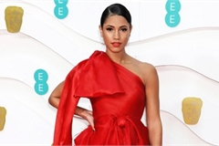 Outfit by designer Tran Hung wins praise as best outfit of BAFTA awards