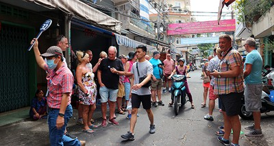 Relic sites in HCM City prove popular with foreigners following re-opening
