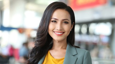 Hoai Sa finishes second in talent competition at Miss International Queen