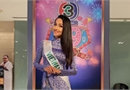 Hoai Sa dresses in Ao Dai for activities at Miss International Queen 2020