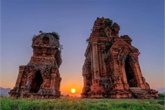 Cham towers in Binh Dinh province