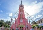 Vietnam church among leading pink buildings to visit worldwide
