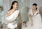 Outfits by local designer Cong Tri appear in French Vogue magazine
