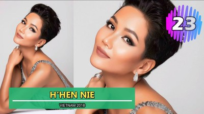 H'Hen Nie wins place among Top 50 most beautiful women of past decade